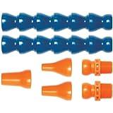 Loc-Line Acetal Copolymer Coolant Hose Assembly Kit, 7 Pieces
