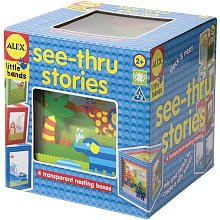 ALEX Toys See Thru Stories Cubes