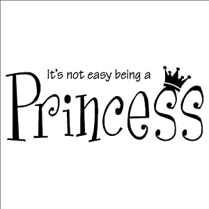 It's not easy being a princess.. but hey... if the shoe ... |Princess Girlfriend Quotes