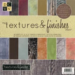 The Textures & Finishes 12 x 12 Paper Stack By 