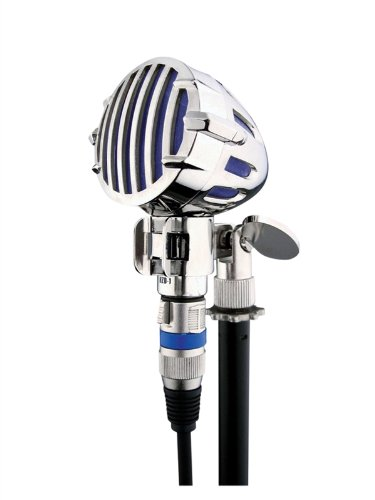 Electrovision Professional Harmonica Microphone With 3 Pin Xlr Connector. Blue Finish