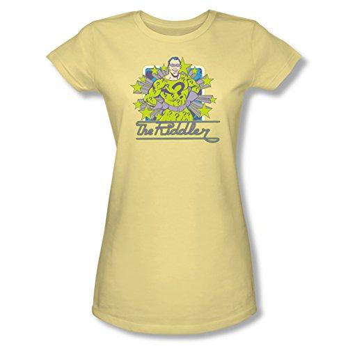 Riddler Stars Ladies Junior Fit T-Shirt