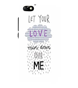 EPICCASE Rain on Me Mobile Back Case Cover For Huawei Honor 4X (Designer Case)