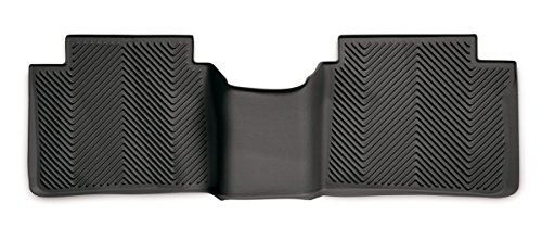 Goodyear Rear Over The Hump Custom Fit Floor Mat For Select Nissan Altima Models - (Black) front-72681