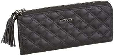Picard Faubourg 1 8859 Damen Portemonnaies, Schwarz (schwarz 001), 19,5x9x2 cm (B x H x T)