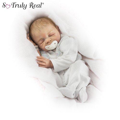 Denise Farmer Cherish Collectible Lifelike Vinyl Baby Doll: So Truly Real by Ashton Drake