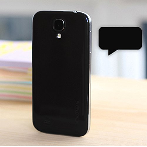 Galaxy S4 Back Cover, ANLEY Bubble Pack Series - [Original Fit] [Identical Details] Back Battery Cover Plate Replacement for Samsung Galaxy S4 (Black) + Free Ultra Clear Screen Protector Film (Samsung S4 Back Cover Replacement compare prices)