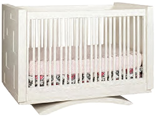 Capretti Design Milano Crib To Twin Toddler Rail and Adult Rails/Platform, Natural