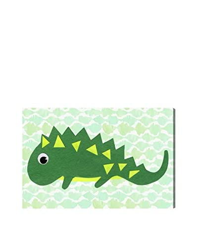 Olivia's Easel Kids' Iguana Canvas Art, Multi, 16 x 24