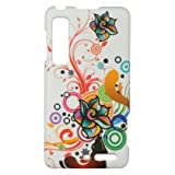 Autumn Flowers Hard Case Snap On Faceplate Cover For Motorola Droid 3