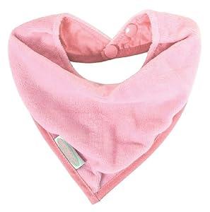 Silly Billyz 102612 - Babero para época de dentición (algodón, 0 a 24 meses), color rosa claro por Silly Billyz