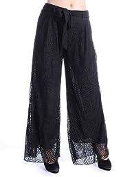 Anna-Kaci S/M Fit Crochet Floral Lace…