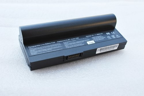 Replacement Netbook Battery for Asus Eee PC Laptop Black AL23-901 AL24-1000 1000HA 1000HD 1000HE 1200 Series 870AAQ159571 8800mAh