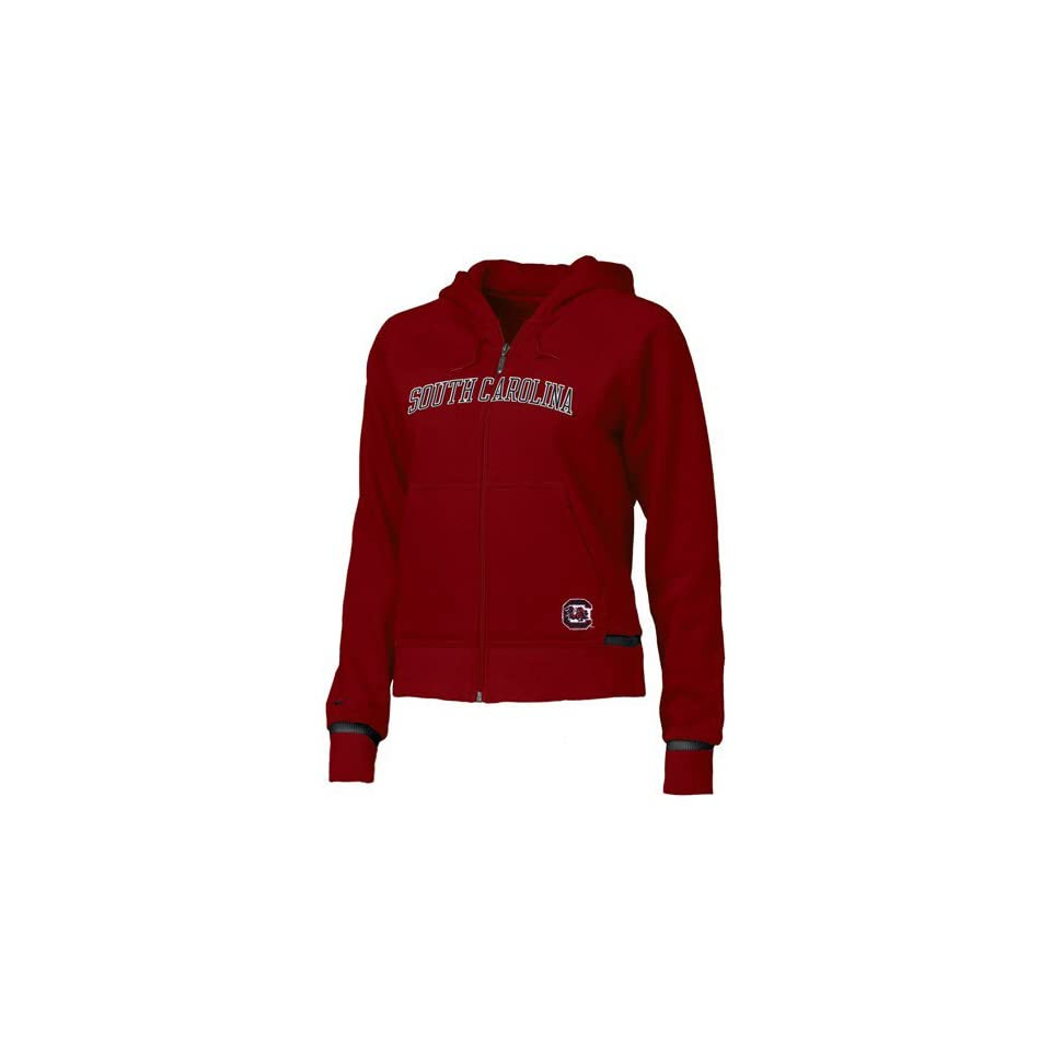 Nike South Carolina Gamecocks Garnet Ladies Classic Fleece Hoody Sweatshirt