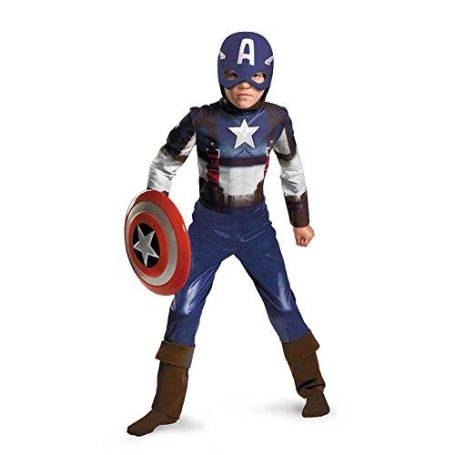 Captain America Movie Child Classic Costume - Medium (7-8)