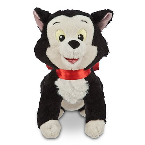 Disney Mini Figaro the Cat Plush