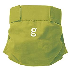 gNappies soft cotton gPants, Guppy Green - Large