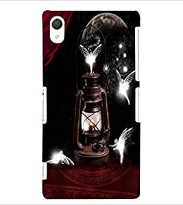 ColourCraft Beautiful Angels Design Back Case Cover for SONY XPERIA Z2