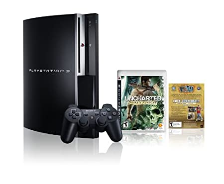 PlayStation 3 160GB Uncharted: Drake's Fortune Bundle