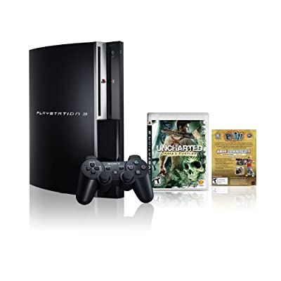 Novo PlayStation 3 Uncharted bundle (160 GB)
