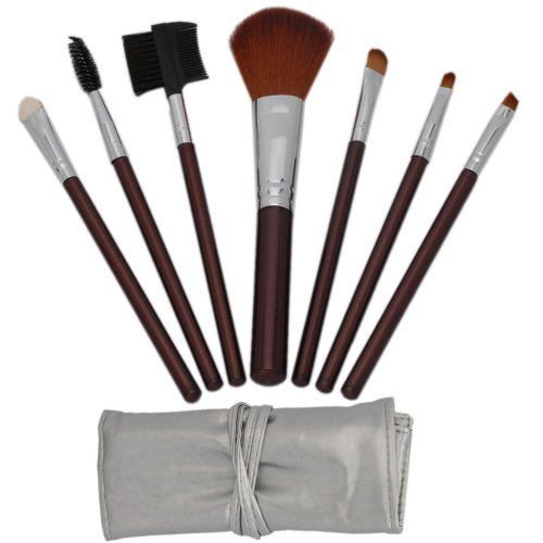 7pcs Brown Professional Cosmetic Makeup Make