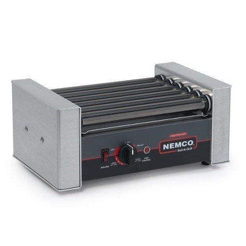 Nemco 8010Sx 10 Hot Dog Roller Grill - Flat Top, 120V, Each