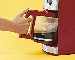 Hamilton Beach 12-Cup Coffee Maker with Glass Carafe, Ensemble Red (43253RA) from Hamilton Beach