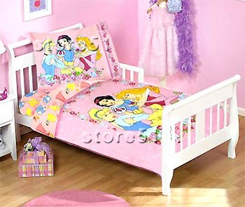 Disney Princesses - Quilt/Comforter - Kids Toddler/Crib Size