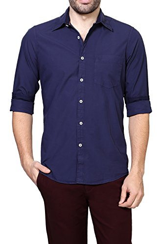 Allen-Solly-Men-Comfort-Fit-ShirtALSF514C0428638Navy