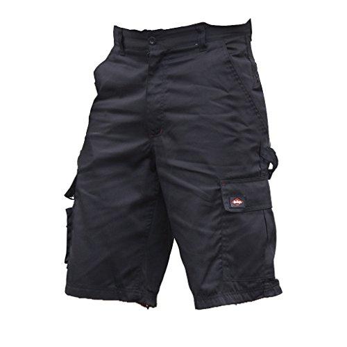 Lee - Pantaloni Corti Cargo Cooper - Uomo (Girovita 102cm) (Nero)