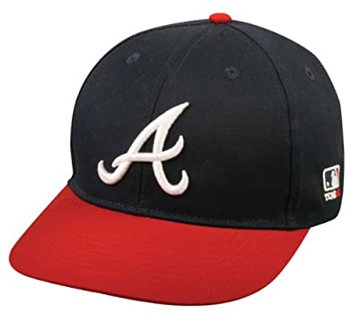 Atlanta Braves ADULT Major League Baseball Officially Licensed MLB Adjustable Velcro Baseball Cap