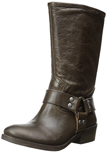 Women's Lucky Brand 'Rolanda' Leather Harness Boot Brindle S