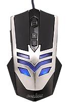 Perixx MX-1000 Iron, Souris gamer filaire - 7 boutons programmables - Avago 3050 Capteur optique 2000 ppp - Omron Micro Switchs - PPP ajustable 500-4000 - Taux de polling: 1000 HZ - Cable USB de 1.8 m
