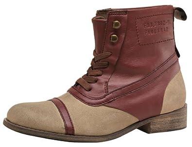 Firetrap Womens Balmoral Boots Tan/Sand 6 UK