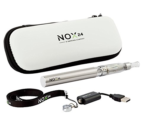 E-Zigarette eGo - E Zigaretten Einsteiger-Set inkl. Atomizer / Verdampfer mit Etui...