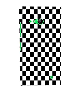 EPICCASE chess board Mobile Back Case Cover For Nokia Lumia 730 (Designer Case)