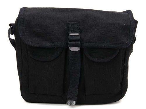 (ロスコ) ROTHCO ミニメッセンジャーバッグ/ミニショルダーバッグ/SHOULDER BAGS 2278 Black [並行輸入品]