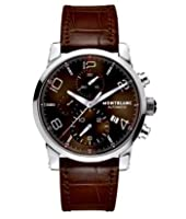 Mens Montblanc Timewalker Automatic Chronograph Brown Watch 106503 from Montblanc