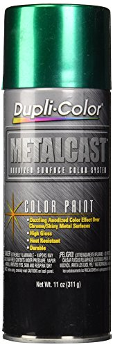 Dupli-Color MC203 Green Metal Cast Anodized Color - 11 oz. (Green Metallic Paint compare prices)