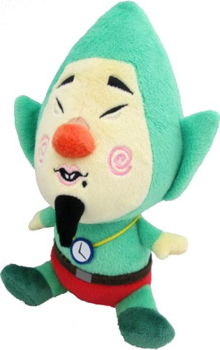 "Little Buddy Legend of Zelda Wind Waker Tingle 8"" Plush"