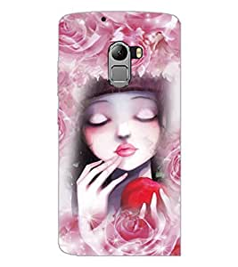PrintDhaba Cute Girl D-4058 Back Case Cover for LENOVO K4 NOTE A7010 (Multi-Coloured)
