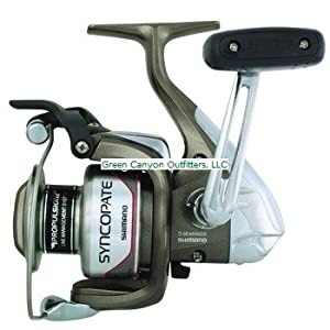 Shimano Syncopate 4000 Front Drag Clam Reel from Shimano
