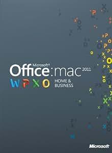 Office für Mac 2011 Home & Business - 1MAC/1User - englisch [Download]