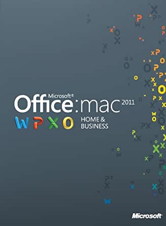 Microsoft Office Mac Home and Business 2011 - 1MAC [Download]