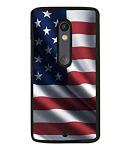 printtech Flag Country Back Case Cover for Moto X Pure Edition