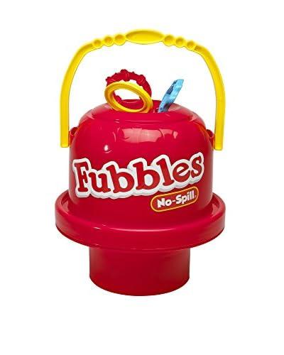 Little Kids Fubbles No-Spill Big Bubble Bucket, Red