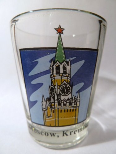 Moskauer Kreml Shot Glas in Russland