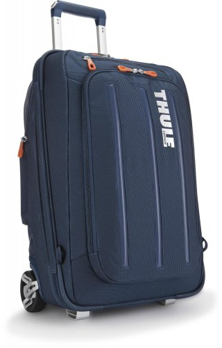 Thule Crossover 38-Litre Rolling Carry-On Suit Case (Dark Blue) front-901197