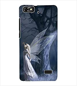 ColourCraft Angel Design Back Case Cover for HUAWEI HONOR 4C