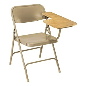 National Public Seating 5200 Series Steel Folding Tablet Arm Chair from National Public Seating